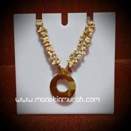 jual display kalung acrylik